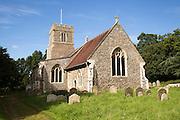 Parish church Saint Andrew village of Marlesford, Suffolk, England, UK