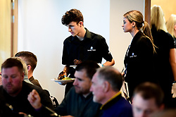 Sandy Park Waiting Staff in Chiefs Suite prior to kick off - Mandatory by-line: Ryan Hiscott/JMP - 30/11/2019 - RUGBY - Sandy Park - Exeter, England - Exeter Chiefs v Wasps - Gallagher Premiership Rugby