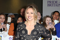 Kimberley Walsh, Pride of Britain Awards, Grosvenor House Hotel, London UK. 28 September, Photo by Richard Goldschmidt /LNP © London News Pictures