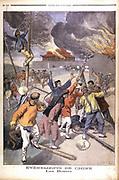 Boxer Rising in China. From 'Le Petit Journal', Paris,  June 1900