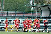 team<br /> Allenamento EA7 Emporio Armani Olimpia Milano <br /> Lega Basket Serie A 2016/2017<br /> Milano 19/08/2016<br /> Foto Ciamillo-Castoria