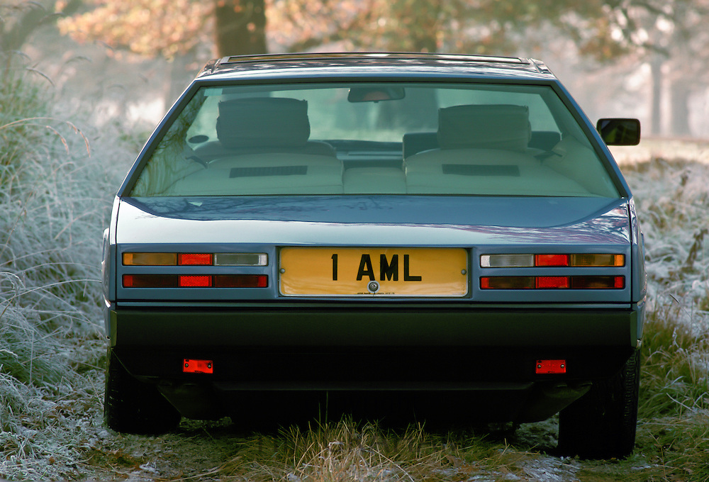 Aston Martin Lagonda car, UK.