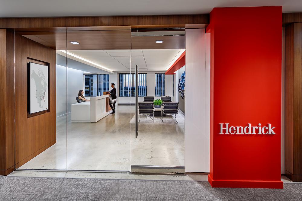 Hendrick Reception Lobby - Atlanta, GA