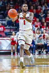 NORMAL, IL - November 29: Dedric Boyd during a college basketball game between the ISU Redbirds and the Prairie Stars of University of Illinois Springfield (UIS) on November 29 2019 at Redbird Arena in Normal, IL. (Photo by Alan Look)