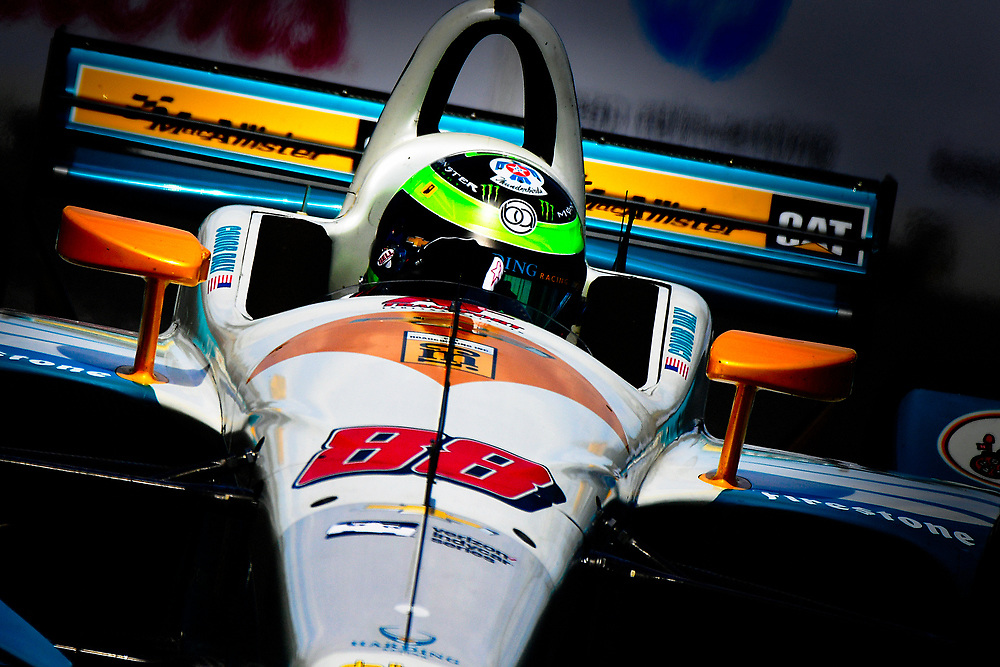 Conor Daly, Harding Racing Chevrolet<br /> Friday 13 July 2018<br /> Honda Indy Toronto<br /> Verizon IndyCar Series<br /> Streets of Toronto ON CAN<br /> World Copyright: Scott R LePage