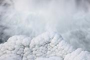 Reykjafoss waterfall in northwest Iceland.