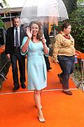 Koninginnedag 2010 . De Koninklijke familie in het zeeuwse Wemeldinge. / Queensday 2010. The Royal Family in Wemeldinge<br /> <br /> op de foto / on the photo :  Prinses Annette