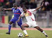 Fotball<br /> Frankrike A v Mali<br /> 25.03.2008<br /> Foto: DPPI/Digitalsport<br /> NORWAY ONLY<br /> <br /> FOOTBALL - FRIENDLY GAMES 2007/2008 - 25/03/2008 - FRANCE A' v MALI - DJIBRIL SIDIBE (MAL) / RIO MAVUBA (FRA)