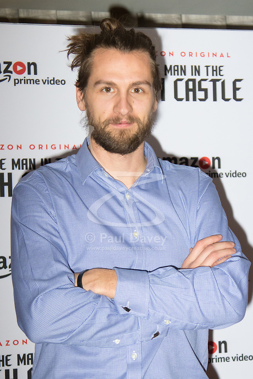 Curzon Bloomsbury, London, December 14th 2016. Celebrities attend the launch of Amazon Prime's European premiere for Season 2 of The Man In The High Castle. PICTURED: Paul Bennet