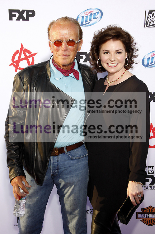 """Peter Weller at the FX's Season 6 Premiere Screening of """"Sons Of Anarchy"""" held at the Dolby Theatre in Hollywood, USA on September 7, 2013."""