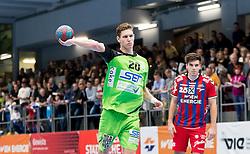 15.10.2016, Halle Hollgasse, Wien, AUT, HLA, SG INSIGNIS Handball WESTWIEN vs HC Fivers WAT Margareten, Grunddurchgang, 8. Runde, im Bild Sebastian Frimmel (WestWien) // during Handball League Austria, 8 th round match between HC Fivers WAT Margareten and SG INSIGNIS Handball WESTWIEN at the Halle Hollgasse, Vienna, Austria on 2016/10/15, EXPA Pictures © 2016, PhotoCredit: EXPA/ Sebastian Pucher