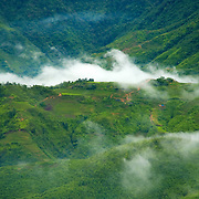 Valley at Sa Pa, Vietnam
