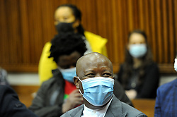 South Africa - Johannesburg - 13 October 2020 - The Economic Freedom Fighters(EFF) leader Julius Malema at the Randburg Magistrate court. Malema and his co-accused the party spokesperson Mbuyiseni Ndlozi appear for attacking a police officer at the funeral of ANC stalwart Winnie Mandela at Orlando stadium in 2018.<br />Picture: Itumeleng English/African News Agency(ANA)