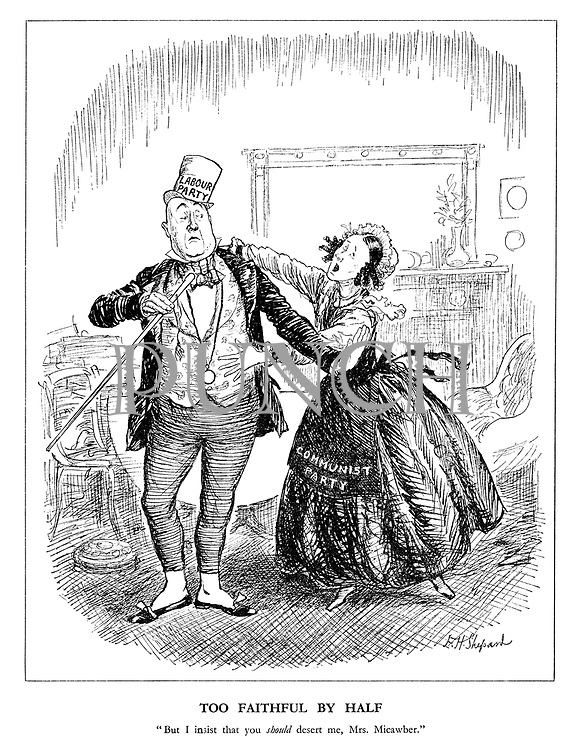 """Too Faithful by Half. """"But I insist that you should desert me, Mrs. Micawber."""""""
