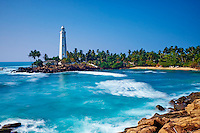Sri Lanka, province du sud, district de Matara, village de Dondra, phare Dondra // Sri Lanka, Southern Province, Matara district, Dondra Lighthouse