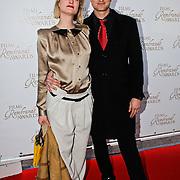 NLD/Amsterdam/20100322 -  Uitreiking Rembrandt Awards 2009, Sebastiaan Labrie en partner Kim Vos