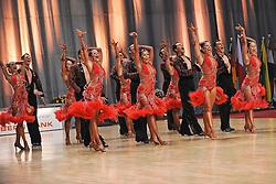 "08.05.2010, Bremen Arena, Bremen, GER, Europameisterschaft, Lateinformation, im Bild Formation (Gruen-Gold-Club Bremen A mit ""Siamo noi""  EXPA Pictures © 2010, PhotoCredit: EXPA/ nph/  Witke / SPORTIDA PHOTO AGENCY"