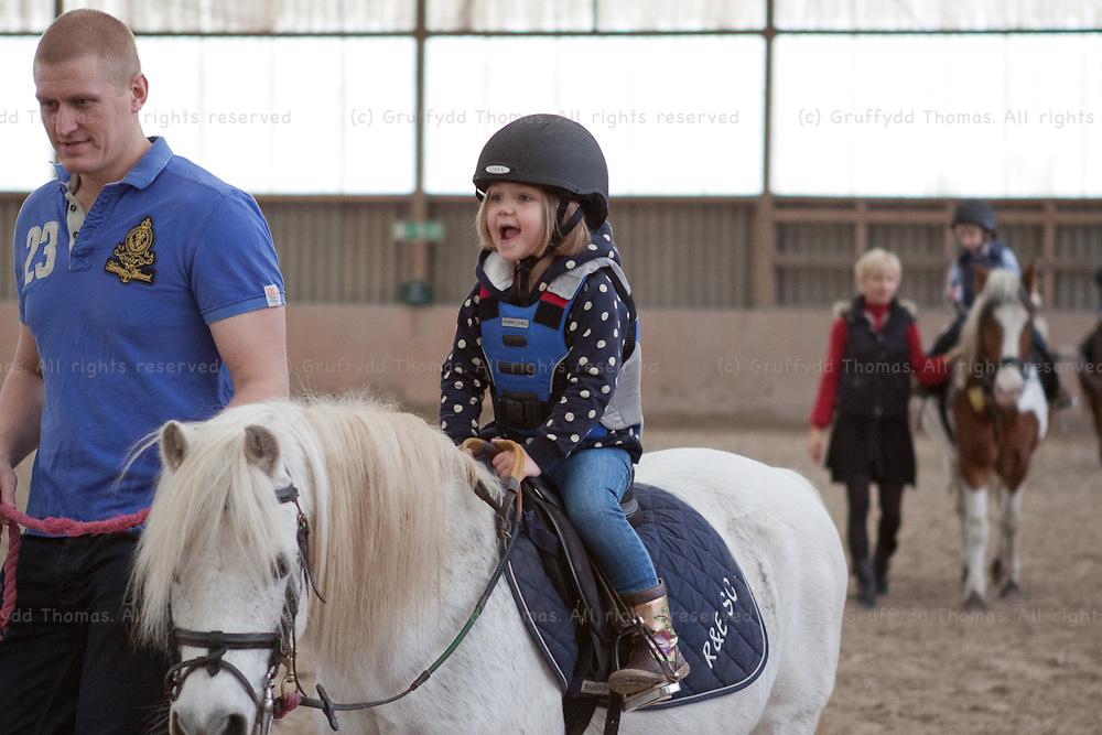 Children's pony riding activity