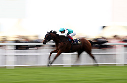 Monarchs Glen ridden by jockey Frankie Dettori wins the Wolferton Stakes during day one of Royal Ascot at Ascot Racecourse.