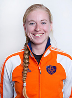 ALMERE - Adinda Boeren van het Nederlands Zaalhockeyteam vrouwen 2010-2011.  COPYRIGHT KOEN SUYK