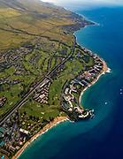 Aerial, Kaanapali, Maui, Hawaii