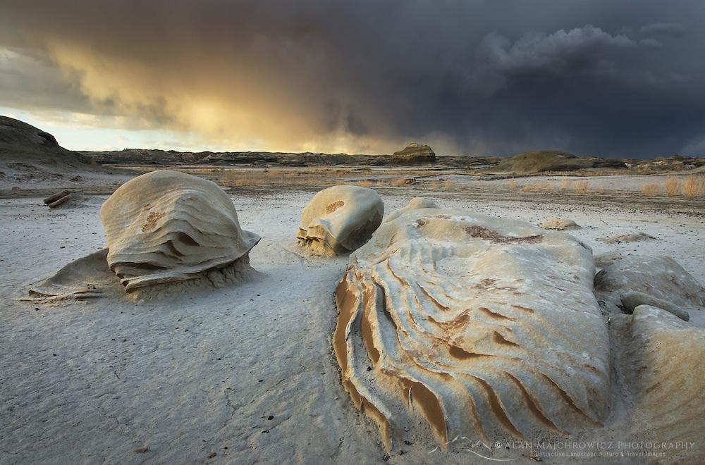 Alien Graveyeard, Bisti Badlands, Bisti/De-Na-Zin Wilderness, New Mexico