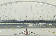 Seville, Andalusia, SPAIN<br /> <br /> 2002 World Rowing Championships - Seville - Spain Sunday 15/09/2002.<br /> <br /> GBR W1X. LAVERICK, Elise.<br /> <br /> Rio Guadalquiver Rowing course<br /> <br /> <br /> [Mandatory Credit:Peter SPURRIER/Intersport Images]