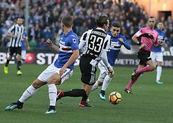 November 19, 2017 - Genoa, Italy - Federico Bernardeschi during Serie A match between Sampdoria v Juventus, in Genova, on November 19, 2017  (Credit Image: © Loris Roselli/NurPhoto via ZUMA Press)