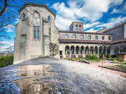 The Met Cloisters museum specializes in European medieval art and architecture, Manhattan, New York City.