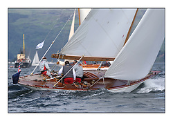 Day three of the Fife Regatta, Cruise up the Kyles of Bute to Tighnabruaich<br /> Saskia, 13, Murdoch McKillop, GBR, Bermudan Sloop, Wm Fife 3rd, 1931<br /> <br /> * The William Fife designed Yachts return to the birthplace of these historic yachts, the Scotland's pre-eminent yacht designer and builder for the 4th Fife Regatta on the Clyde 28th June–5th July 2013<br /> <br /> More information is available on the website: www.fiferegatta.com