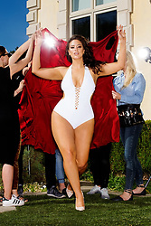 """Brooke Shields looks incredible at 52 as she parades her fit figure in a bikini for a new body-positive swimsuit campaign. The Suddenly Susan star shared the limelight with an array of other women of differing sizes, including stunning plus-size model Ashley Graham, 30, and reality star Angela Simmons, 30, in a campaign for swimsuit brand Swimsuits For All. Brooke disrobes, a white dressing gown slinking over her shoulders, to reveal her bright red bikini underneath while in another frame the actress puts her pedal to the metal while posing in her two-piece while resting up against a convertible car. The mother-of-two shared with people.com that she finally feels good about her body — and confident in a bikini. """"Growing up under such scrutiny led me to feel insecure about my looks,"""" shared Brook, who stars in the Swimsuits For All """"Power Suit"""" campaign. """"Feeling disconnected from my own body, it took me years to separate the opinions of others from my own. """"At 52 years old, I finally feel comfortable and proud of all the hard work I've put into my body,"""" adding that she feels """"confident being in my own skin"""". Also appearing in the campaign is nurse practitioner Katie Duke and pro swimmer Pat Gallant Charette, who last year became the oldest woman to swim across the English Channel aged 66. 22 May 2018 Pictured: Brooke Shields stars in a the """"Power Suit"""" campaign for swimsuit brand Swimsuits For All; (L-R) nurse practitioner Katie Duke, model Ashley Graham, actress Brook Shields, pro swimmer Pat Gallant Charette and reality TV star Angela Simmons. Photo credit: Swimsuits For All/ MEGA TheMegaAgency.com +1 888 505 6342"""