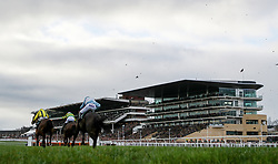 Lostintranslation ridden by Robbie Power (right) with Defi Du Seuil ridden by Barry Geraghty in the Betbright Dipper Novices' Chase during the New Year Meeting at Cheltenham Racecourse.