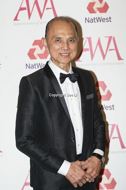 London, UK. 10th May 2017.Jimmy Choo attends The Asian Women of Achievement Awards 2017 at the London Hilton on Park Lane Hotel. Photo by See li Credit: See Li