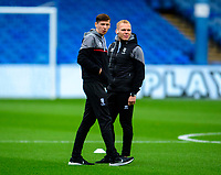 Lincoln City's Conor McGrandles, left, and Anthony Scully oil arrival at the ground<br /> <br /> Photographer Andrew Vaughan/CameraSport<br /> <br /> The EFL Sky Bet League One - Sheffield Wednesday v Lincoln City - Saturday 23rd October 2021 - Hillsborough Stadium - Sheffield<br /> <br /> World Copyright © 2021 CameraSport. All rights reserved. 43 Linden Ave. Countesthorpe. Leicester. England. LE8 5PG - Tel: +44 (0) 116 277 4147 - admin@camerasport.com - www.camerasport.com