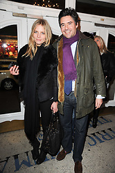 EDWARD TAYLOR and SILJE VALLEVIK at an In-House screening of 'Sweet Smell of Success' hosted by Clive Owen presented by Tod's in association with Amend held at The Electric Cinema, 191 Portobello Road, London W11 on 29th November 2010.