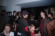 Gael Garcia Bernal and Bettina von Hase. Blood Wedding Post - performance party. Count Christophe Gollut's annual fundraising Gala for the Almeida. Islington. London. 17 May 2005. ONE TIME USE ONLY - DO NOT ARCHIVE  © Copyright Photograph by Dafydd Jones 66 Stockwell Park Rd. London SW9 0DA Tel 020 7733 0108 www.dafjones.com