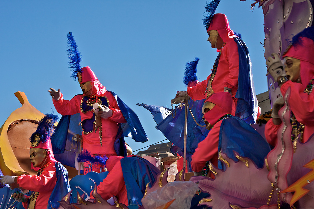 Rex Parade, New Orleans, Mardi Gras 2010