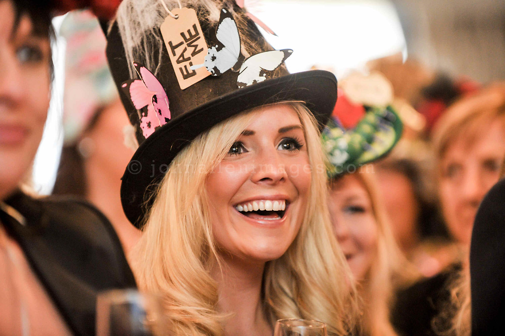 REPRO FREE<br /> Claire Robinson from Finglas pictured at the Mad Hatter's Taste of Kinsale on Saturday during the 38th Kinsale Gourmet Festival.<br /> Picture. John Allen