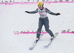 01.02.2019, Energie AG Skisprung Arena, Hinzenbach, AUT, FIS Weltcup Ski Sprung, Damen, Qualifikation, im Bild Romana Straub (GER) // Romana Straub (GER) during the woman's Qualification Jump of FIS Ski Jumping World Cup at the Energie AG Skisprung Arena in Hinzenbach, Austria on 2019/02/01. EXPA Pictures © 2019, PhotoCredit: EXPA/ Reinhard Eisenbauer