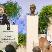 NLD/Middelburg/20180516 -Four Freedom Awards 2018, De award voor de vrijheid van meningsuiting is uitgereikt aan de heer Erol Önderoǧlu