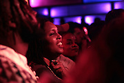 New York, NY-January 26: Audience during the Robert Glasper Grammy Joint 2018 featuring the new project called August Greene featuring Common, Robert Glasper and Karriem Riggins held at the Highline Ballroom on January 26, 2018 in New York City.  (Photo by Terrence Jennings/terrencejennings.com)