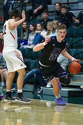 27 December 2019: State Farm Holiday Classic Coed Basketball Tournament , Normal-Bloomington Illinois<br /> <br /> El Paso Gridley Titans v Winnebago Indians boys basketball