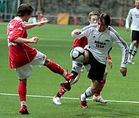 Fotball <br /> Color line cup<br /> 29.01.2010<br /> Rosenborg bk Juniour - Brann 4-0<br /> Sunnmørshallen <br /> <br /> Ole kristian langås - rosenborg junior<br /> <br /> Foto:Richard brevik Digitalsport