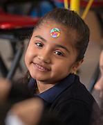 Adrienne Glover teaches kindergarten at Anderson Elementary School, May 11, 2016.