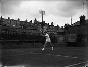 Tennis, International Junior Lawn Tennis Championships at Fitzwilliam Square, Dublin.<br /> 22.08.1961