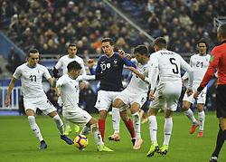 November 20, 2018 - Saint Denis, France - Thauvin vs Lucas Torreira et Betancur (Credit Image: © Panoramic via ZUMA Press)