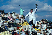 William L. Rathje, professor of archeology at the University of Arizona studies garbage as insight into human behavior.  The only way to know who a people are is by what they throw away he says.  10/89