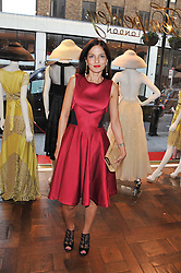 YASMIN MILLS at the Frocks and Rocks party hosted by Alice Temperley and Jade Jagger at Temperley, Bruton Street, London on 25th April 2013.