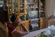 July 1st, 2015. President Obama announces an agreement to open a cuban embassy in the US and a US embassy in Cuba for the first time since 1961.  broadcast on national cuban TV.<br /> Marianao, Havana, Cuba.