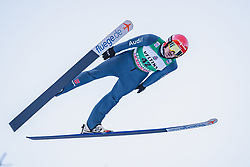 11.01.2019, Stadio del Salto, Predazzo, ITA, FIS Weltcup Nordische Kombination, Skisprung, im Bild Fabian Riessle (GER) // Fabian Riessle of Germany during Skijumping Competition of FIS Nordic Combined World Cup at the Stadio del Salto in Predazzo, Italy on 2019/01/11. EXPA Pictures © 2019, PhotoCredit: EXPA/ JFK